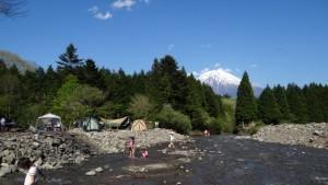 富士山 見える キャンプ場
