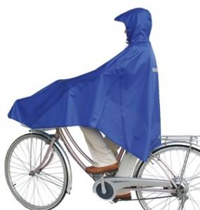 自転車屋さんのポンチョ