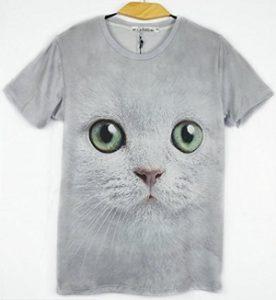 アニマル 3D Tシャツ